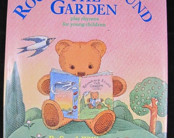 Round and Round the Garden // 1983 Hardback // Fingerplay Rhymes for Young Children //  ISBN 0192797662