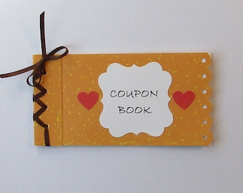 COUPON BOOK No. 46, CHRISTMAS Gift, Stocking Stuffer, Birthday Gift, Holiday Gift, Gift, Any Occasion Gift