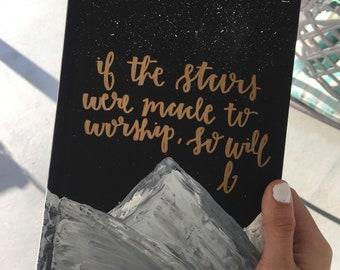 Starry Night Theme Bible