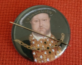 Henry VIII and His Wives Needle Minders/Magnet/Pin Back
