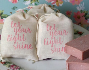 Let your Light Shine, Ladies Retreat, Ministry Favors, Church Favors, Inspirational Gifts, Womens Church Gifts, Religions Gifts, Youth Gift