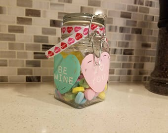 Valentine's Day Candy Gift Jar