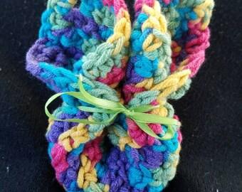 Easter Bunny washcloth , ready to ship, crochet washcloth, baby shower gift, baby, Easter Bunny, Easter decoration, Easter Basket, washcloth