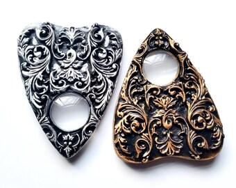2 x Filigree Ouija Board Planchette - Ouija Planchette - Ouijaboard - Resin Planchette - Gothic Gifts - Witchcraft - Altar Kit - Witchy