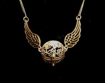 Snitch Aromatherapy Necklace