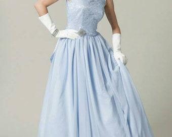 Vintage wedding gown, vintage prom gown, wedding dress, prom dress