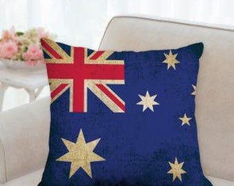 Australia Flag Pillow