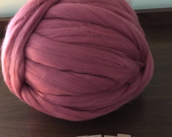Mulberry Merino Wool Top, 21 Microns, Roving, Spinning, Wet Felting, Needle Felting,
