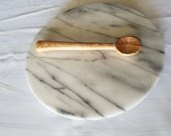 Handmade Carved Wooden Maple Spoon