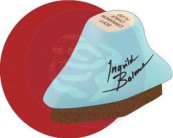 BRICK WALL... Individual Prima Chalk Fluid Edger - Ingvild Bolme