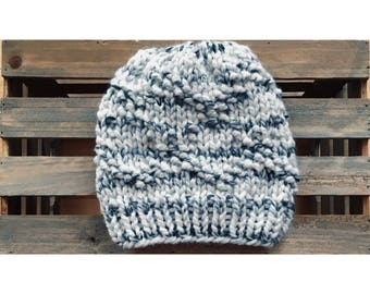 Bulky Etta Hat-Marble (Ready To Ship)