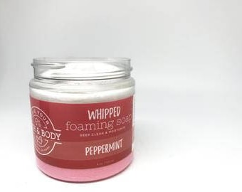 Foaming Whipped Soap