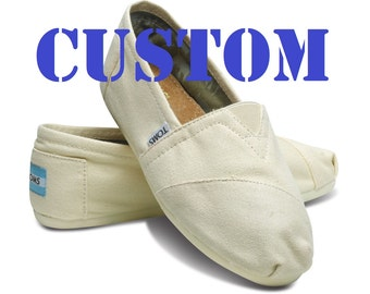 Custom Design Your TOMS Shoes