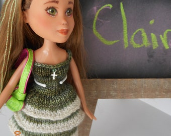 Made under repaint recycled Bratz doll - Minka's Kids Claire
