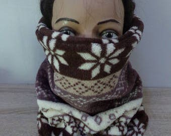 snood adult winter pattern
