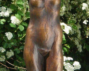 Bronze sculpture of the Torzo