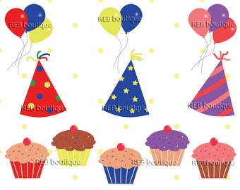 clipart balloons clip art balloons bunches birthday rh etsy com celebration clipart free celebration clip art free images
