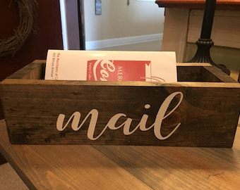 Rustic Letter Mail Box