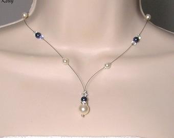 Bridal Swarovski Collection Glamour necklace 2 - MARIAGE CÉRÉMONIE Kelly ♥ ♥