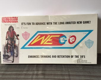 Vintage We Go game new in the box Nan Davis Dry Fork Dayton Ohio 1983 gameways