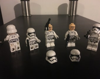 Lego Star Wars Compatible Stormtrooper Clones lot of 5 - Will Combine Shipping