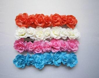 Women Flower Headband, Artificial Floral Hairband