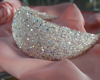 Tiara, Swarovski Crystal Tiara, Hair Band, Bridal Accessories, Hair Accessories, Wedding Accessories - FreeShipping worldwide !!!