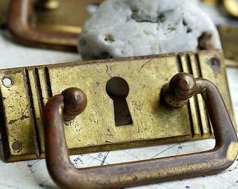 vintage escutcheon, key hole plate, metal plate, Cool Vintage, door, furniture, secret, UA