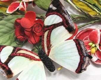 Butterfly Embellishments Peppermint Twist