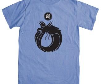 Dragon Logo on Blue T-shirt