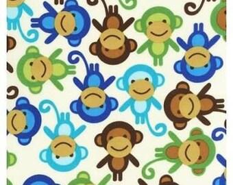 40% OFF SALE!  Urban Zoologie Monkeys Royal - Ann Kelle