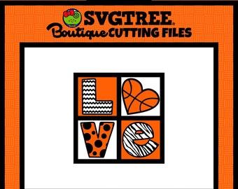 Basketball SVG Basketball Mom SVG Basketball Shirt Commercial Free Basketball Cricut Silhouette Files Digital Cut Files svg cut files