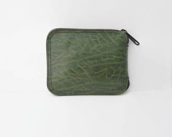 Folded Shopping Bag, Reusable Shopping Bag, 1980's Vintage Leather Bag, Leather Shopping Bag, Shopping Bag With Handle, Fabric, Market Bag