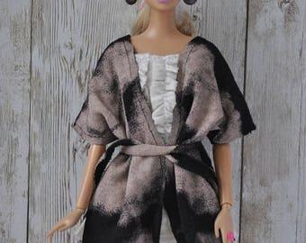 Beautiful handmade kardigan for Barbie Fashionistas,Model Muse,Fashion Royalty dolls