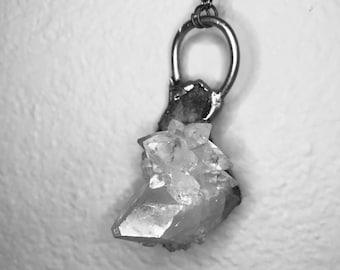 Clear Quartz Crystal Chunk