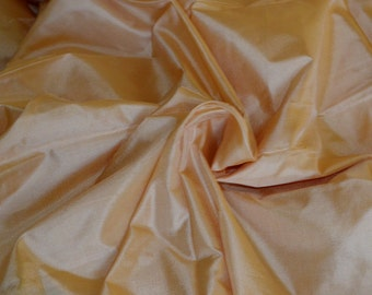 Fine Indian Silk Taffeta in   sandal wood colour  -  fat quarter -TF 116