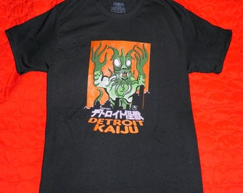 Pete Coe's Detroit Kaiju Men's T-Shirt M, L, XL,  2X Original Monster Art Shirt