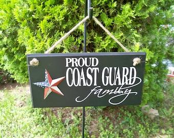 military sign, coast guard, coast guard sign, coast guard gifts, family sign, coast guard mom, coast guard party, signs, veteran