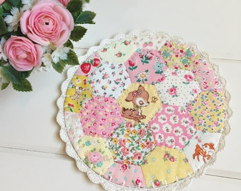 a most lovely hexie patchwork doily no. 2