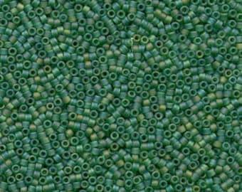 5g DB858 Miyuki Delica Bead Light Green AB