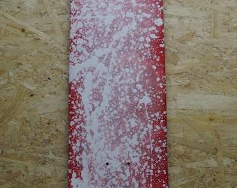 27.5 Red Cruiser Skateboard Deck