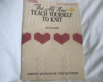 Want to Knit? Teach Yourself with this