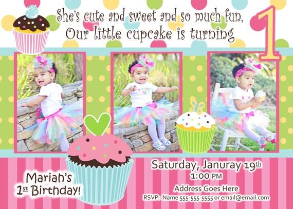 Cupcake invitation cupcake invite hot pink black white leopard 50 stopboris Images