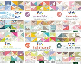 NEW 6 BIG BLOCK 60 PAPER LEAVES SMOOTH ARTEMIO FRONT IS 360 LEAVES