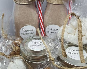 Gourmet Hot Chocolate/Vanilla Chai Tea with mini Marshmallows