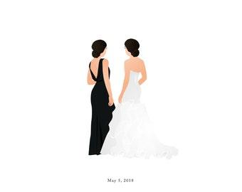 Custom Bridesmaid Gift | Individuals
