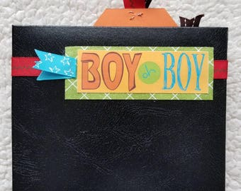 Boy mini 6x6 Scrapbook Album
