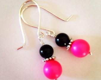 Pink Pop Earrings