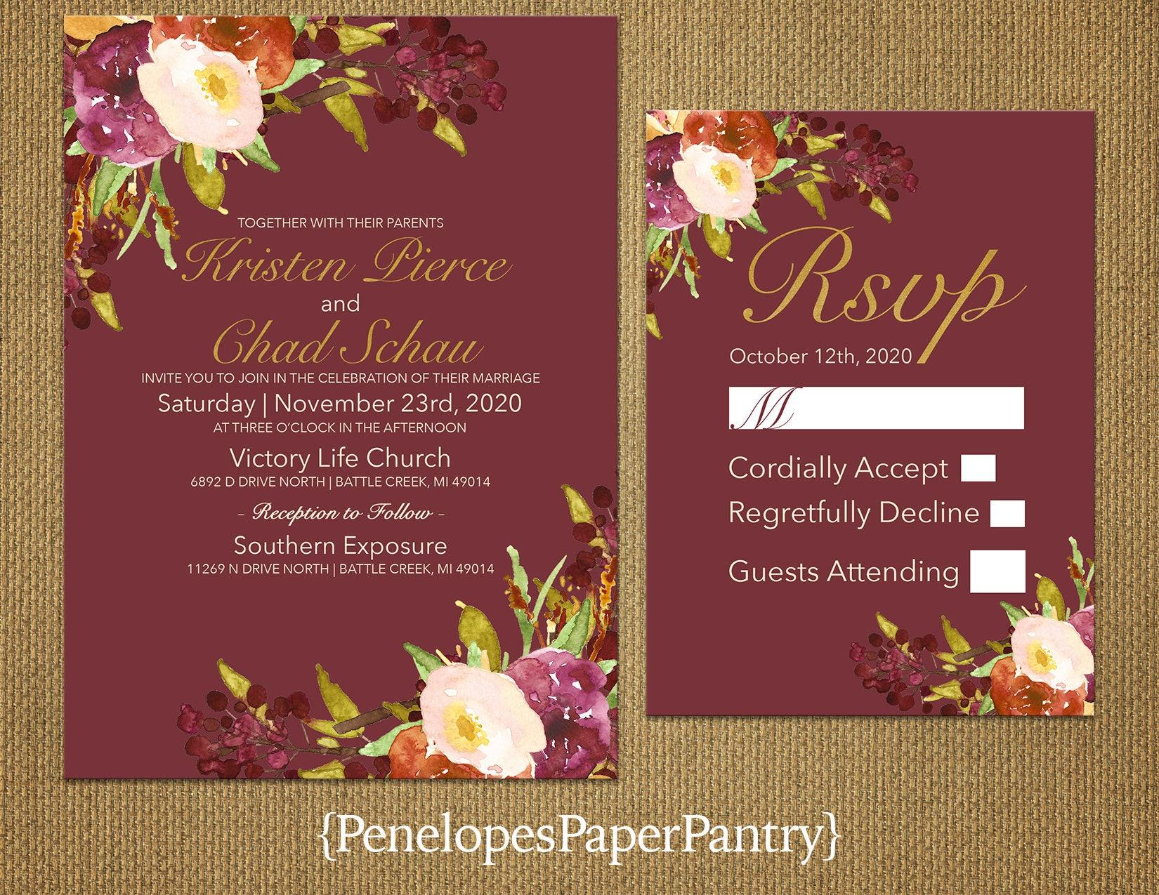 Unique Wedding Invitations Markham Ensign - Invitation Card Ideas ...