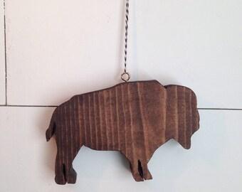 Wood Buffalo/Bison ornamant